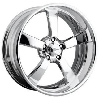 RACELINE WHEELS  SPEEDSTER 5 POLISHED RIM