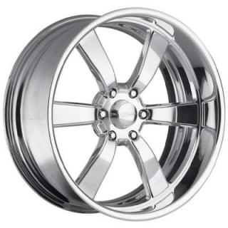 RACELINE WHEELS   SPEEDSTER 6 POLISHED RIM