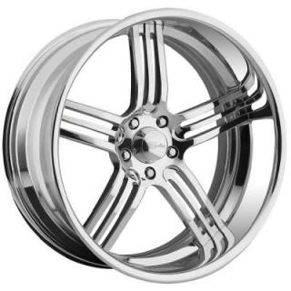 RACELINE WHEELS  IMPERIAL 5 POLISHED RIM