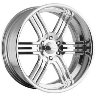 RACELINE WHEELS   IMPERIAL 6 POLISHED RIM