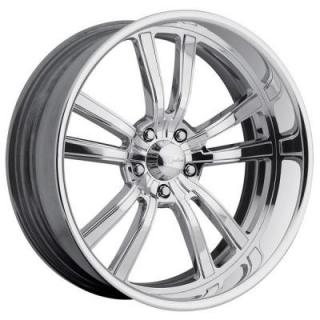 RACELINE WHEELS  STATIC 5 POLISHED RIM