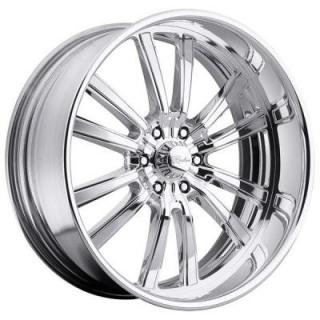 RACELINE WHEELS  STATIC 6 POLISHED RIM