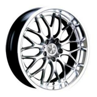 SPECIAL BUY WHEELS  R-505 HYPER SILVER RIM with MACHINED LIP