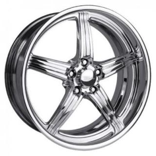 RACELINE WHEELS  SNIPER 5 POLISHED RIM