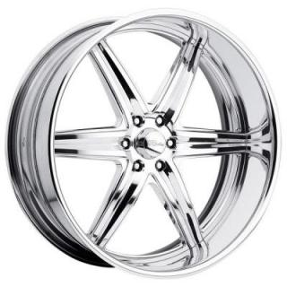 RACELINE WHEELS  SNIPER 6 POLISHED RIM