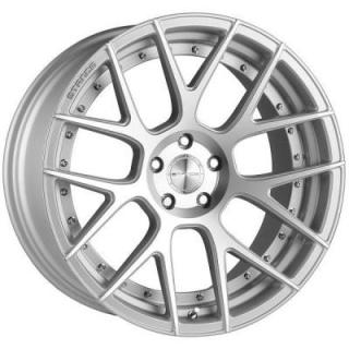 SC-8 SILVER RIM with MACHINED FACE by STANCE WHEELS