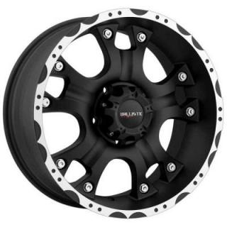 BALLISTIC WHEELS  HOSTEL 811 FLAT BLACK RIM