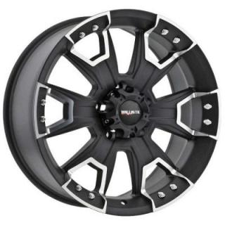 BALLISTIC WHEELS  HAVOC 904 FLAT BLACK RIM