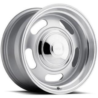 REV WHEELS  CLASSIC 107 SILVER RIM