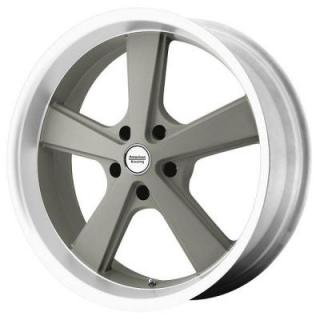 AMERICAN RACING WHEELS  VN701 NOVA MAG GRAY MACHINED RIM