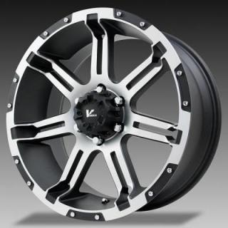 VR1 OVERDRIVE BLACK RIM with MACHINED FACE from V-ROCK WHEELS