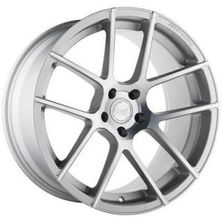 M510 SATIN SILVER RIM with MACHINED FACE from AVANT GARDE WHEELS