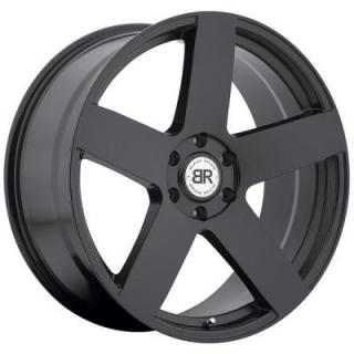 EVEREST MATTE BLACK RIM from BLACK RHINO WHEELS