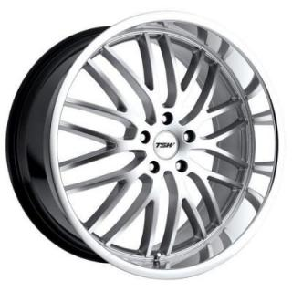 SPECIAL BUY WHEELS  TSW SNETTERTON HYPER SILVER RIM with MIRROR CUT LIP