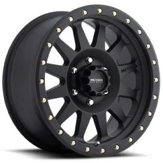 SPECIAL BUY WHEELS  METHOD MR304 DOUBLE STANDARD MATTE BLACK RIM