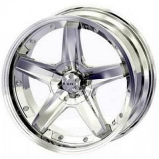 SLEDGE HAMMER CHROME RIM from GFX WHEELS