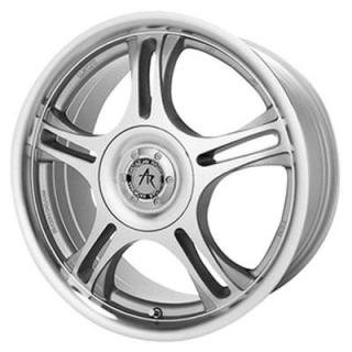 AMERICAN RACING WHEELS  AR95T MACHINED RIM with CLEAR COAT