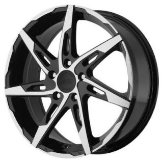 AMERICAN RACING WHEELS  AR900 GLOSS BLACK RIM with MACHINED FACE