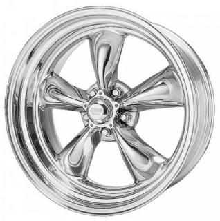 AMERICAN RACING WHEELS  VN515 TORQ THRUST II 1 PC POLISHED RIM