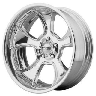 AMERICAN RACING WHEELS  VN474 GASSER POLISHED RIM