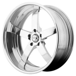 AMERICAN RACING WHEELS  VF495 FORGED POLISHED SOFT LIP RIM