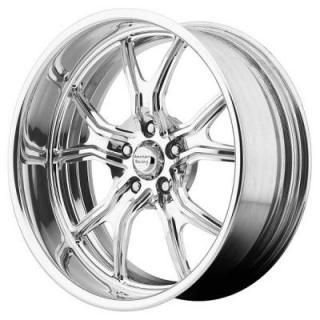 AMERICAN RACING WHEELS  VF498 FORGED POLISHED SOFT LIP RIM