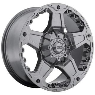 SPECIAL BUY WHEELS  BLACK ROCK 907A TERRA ANTHRACITE RIM PPT