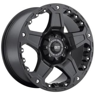 SPECIAL BUY WHEELS  BLACK ROCK 907B TERRA MATTE BLACK RIM PPT