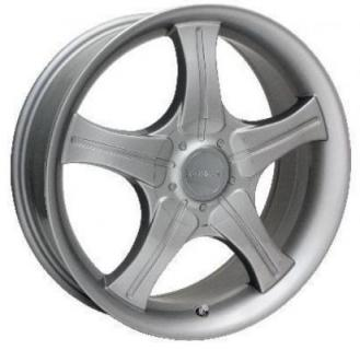 SPECIAL BUY WHEELS  UNIQUE BY CRAGAR 830S SILVER PAINTED RIM PPT