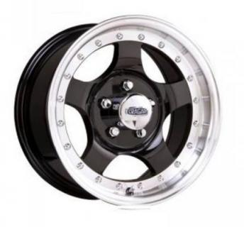 SPECIAL BUY WHEELS  CRAGAR 409B MIRAGE BLACK RIM PPT