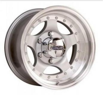 CRAGAR 409S MIRAGE SILVER RIM PPT by CRAGAR WHEELS