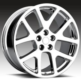 REV WHEELS  OE REPLICA 589 CHROME RIM