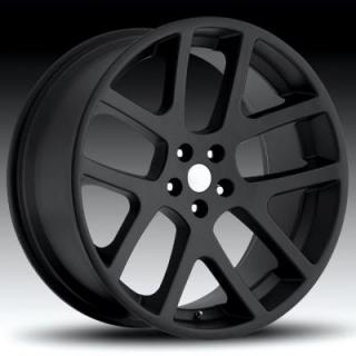 REV WHEELS  OE REPLICA 589 MATTE BLACK RIM