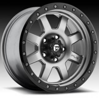 FUEL OFFROD D552 TROPHY ANTHRACITE RIM with MATTE BLACK RING PPT from SPECIAL BUY WHEELS