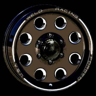 WELD RACING WHEELS  TRAILER R50 BLACK ANODIZED RIM