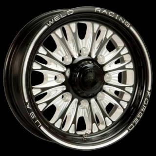WELD RACING WHEELS  TRAILER R54 BLACK ANODIZED RIM
