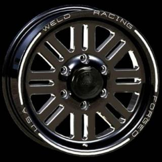 WELD RACING WHEELS  TRAILER R56 BLACK ANODIZED RIM