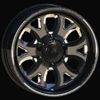 WELD RACING WHEELS  TRAILER R58 BLACK ANODIZED RIM