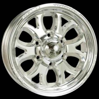 WELD RACING WHEELS  TRAILER R58 POLISHED RIM