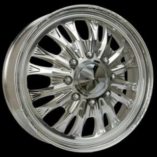 WELD RACING WHEELS  DUALLY D54 POLISHED RIM