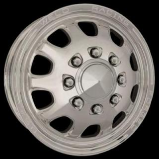 WELD RACING WHEELS  DUALLY D55 POLISHED RIM