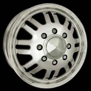WELD RACING WHEELS  DUALLY D56 POLISHED RIM