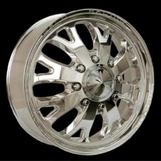 WELD RACING WHEELS  DUALLY D58 POLISHED RIM
