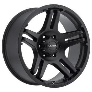 BULLY 264 SATIN BLACK RIM by ULTRA WHEELS