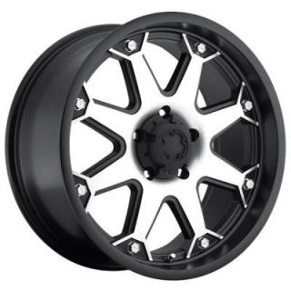 ULTRA WHEELS - LABOR DAY SALE!  BOLT 198 BLACK RIM with DIAMOND CUT FACE