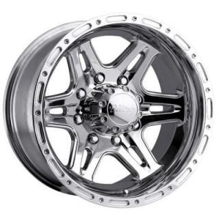 ULTRA WHEELS  BADLANDS 207/208 POLISHED RIM 8 LUG