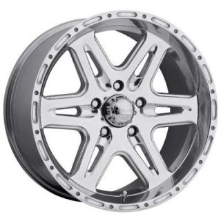 ULTRA WHEELS  BADLANDS 207/208 POLISHED RIM