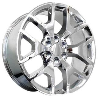 REV WHEELS  OE REPLICA 586 CHROME RIM