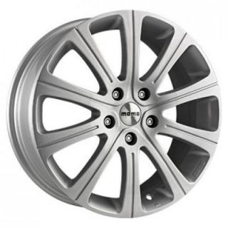 MOMO WHEELS  WIN 2 GLOSSY SILVER RIM