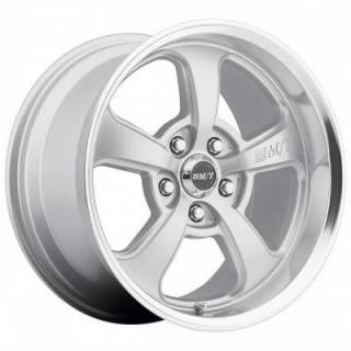 SPECIAL BUY WHEELS  MICKEY THOMPSON STREET COMP SC-5 SILVER RIM PPT